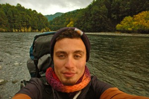 Into The Woods Chile Patagonia Man River small