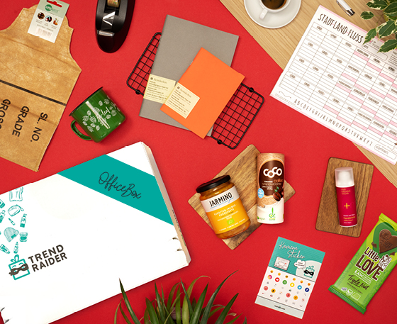 OfficeBox als Geschenk für Kollegen