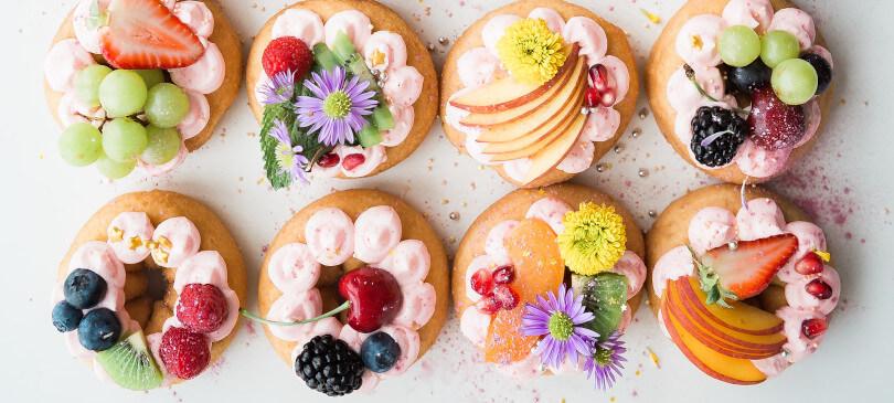 Plastikfreie Geburtstagsfeier Cupcakes