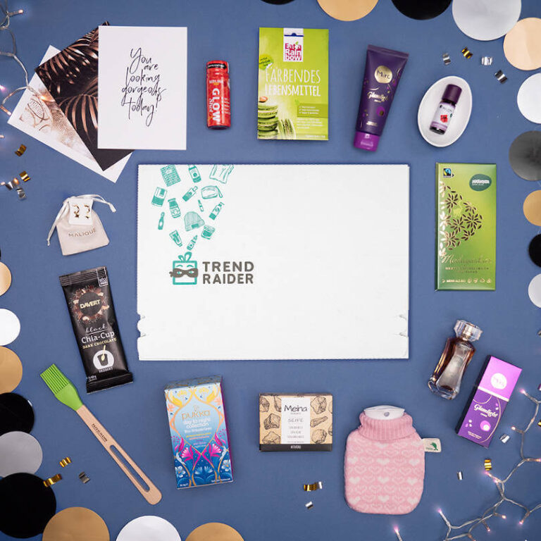 TrendRaider TrendBox Dezember 2020 - Let it Glow