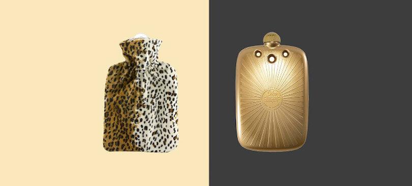 Hugo Frosch Wärmflaschen Öko Leopard