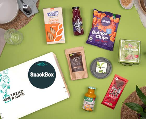 SnackBox_TrendRaider_GeschenkBox mit Snacks_nachhaltige Snacks_560x457px