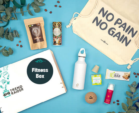 TrendRaider_FitnessBox_Geschenk für Sportliebhaber_Geschenk mit Fitness Produkten