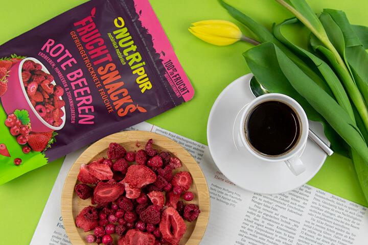 Nutripur Fruchtsnacks Erdbeeren