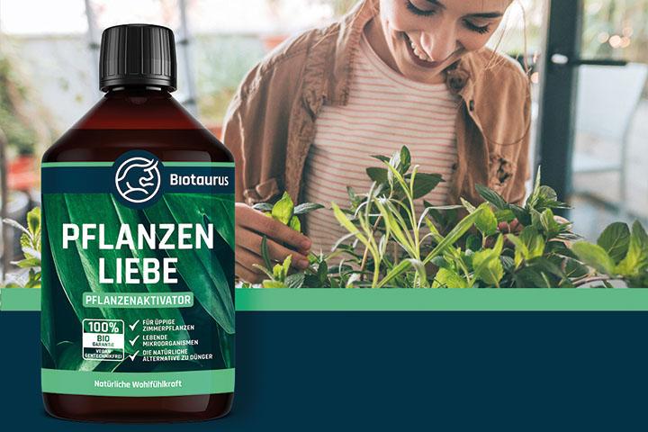 Biotaurus Pflanzenliebe