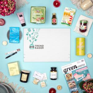 Unboxing TrendBox Februar-Box 2021 Sunday Morning - 1000px