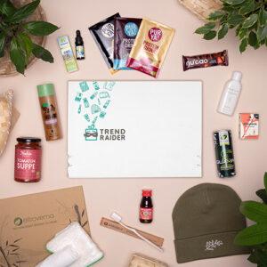 Unboxing TrendBox Januar-Box 2021 Feel Good - 500px