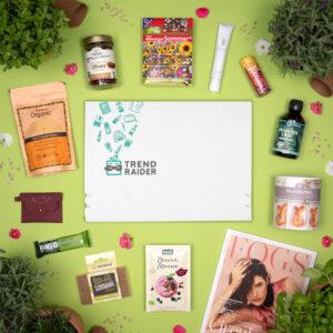 Unboxing TrendBox Maerz-Box 2021 Wild Garden - 1000px