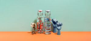soulbottles Trinkflaschen aus Glas