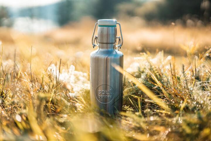 soulbottles steel Trinkflasche aus Edelstahl