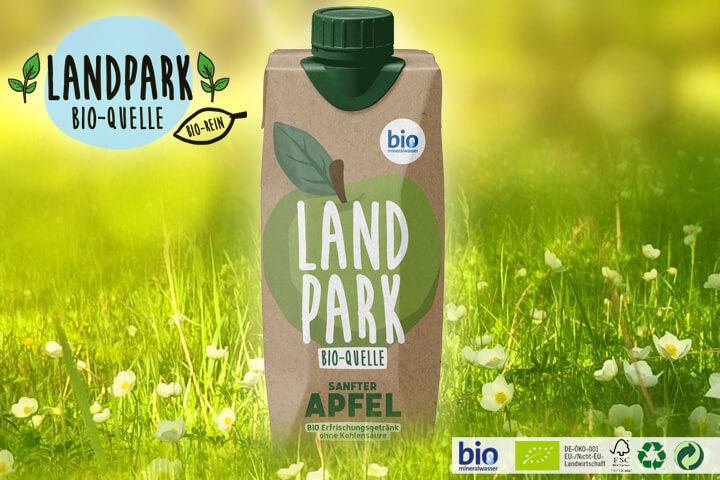 Landpark Bio Mineralwasser