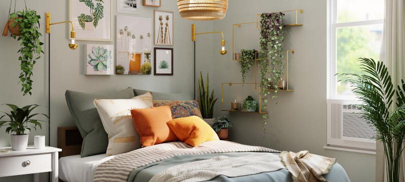Nachhaltiges Schlafzimmer