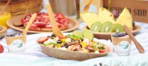 Kulero essbares Geschirr und Besteck