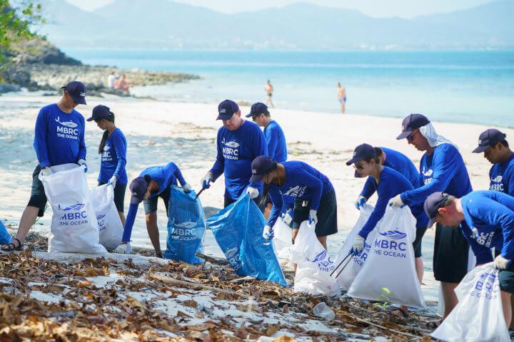MBRC the Ocean Foundation Beach Cleanup