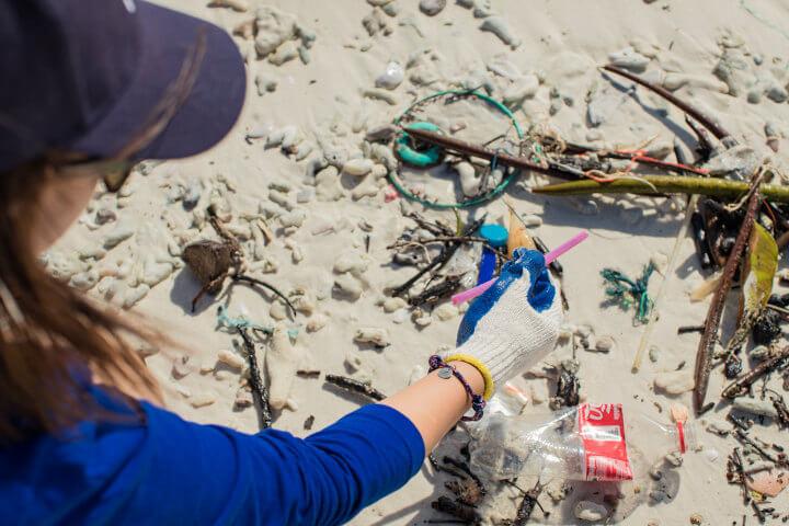 MBRC the Ocean Plastik Muell beseitigen