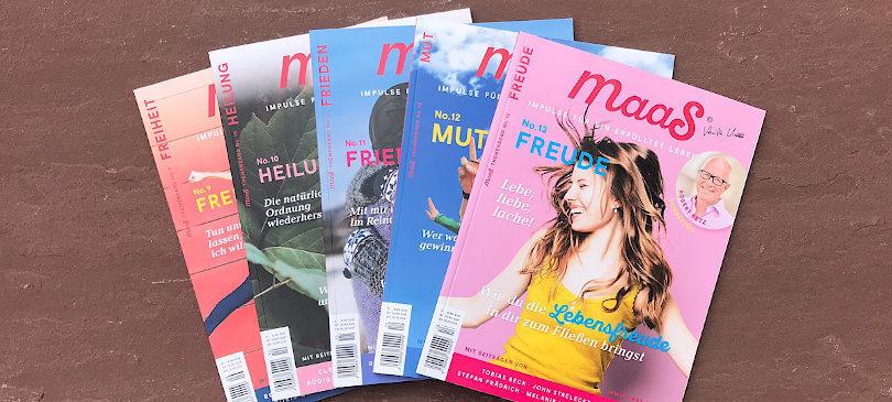 Maas Magazin Achtsamkeit Naturverbundenheit Spiritualität