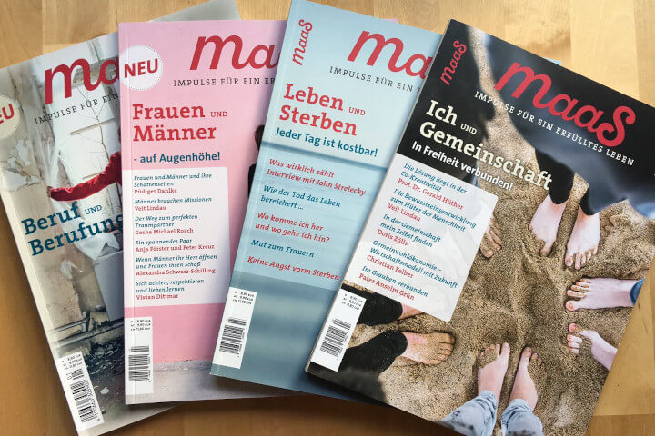 Maas Magazin Achtsamkeit