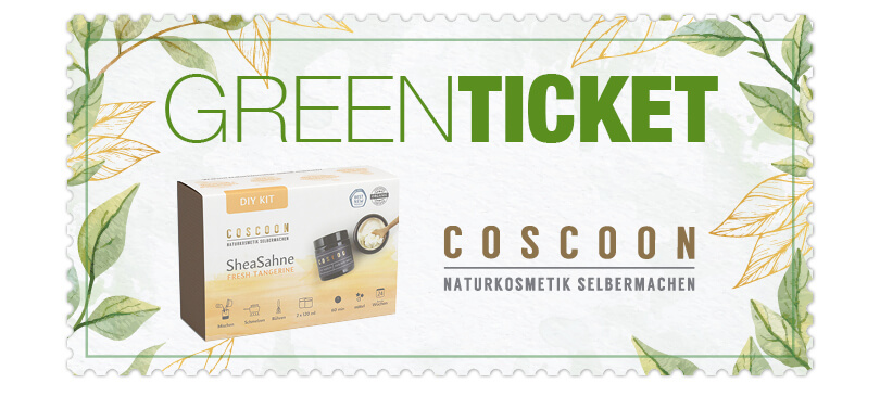 Trendraider Green Ticket Coscoon