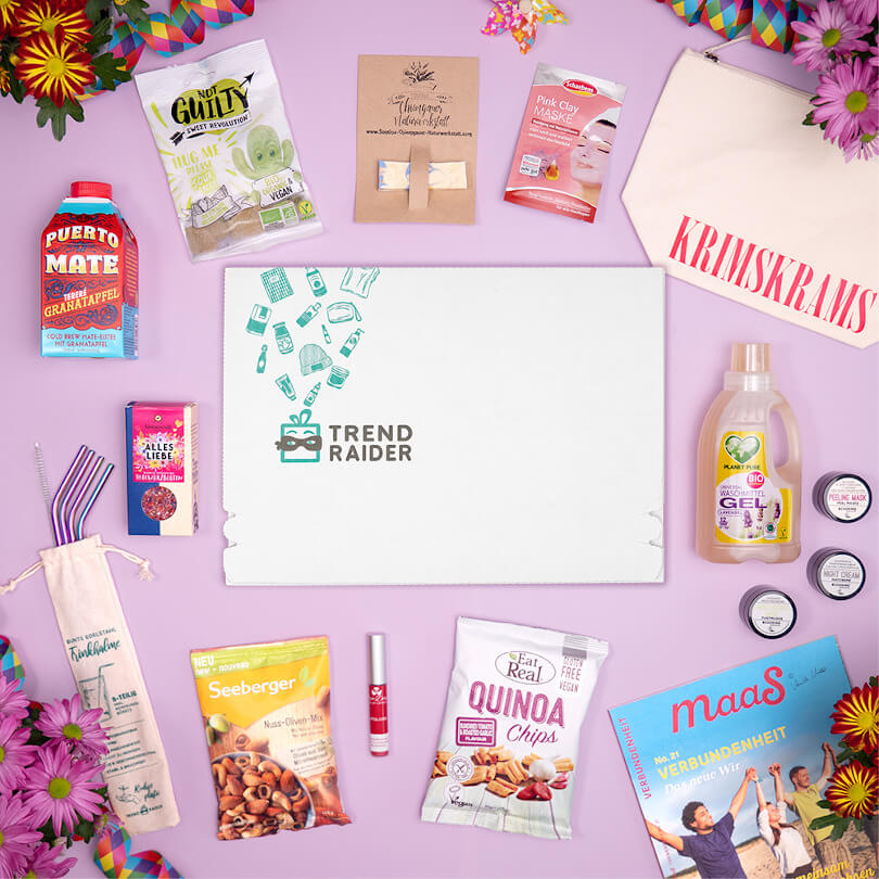 Unboxing JuliBox ColourYourDay